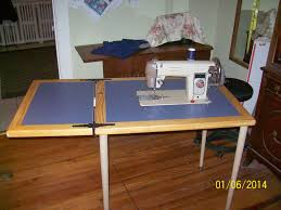 Sewing Machine With Table Seam Ripper Joe And His Sewing Machine D I Y Flatbed Sewing
