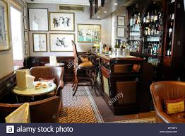 bar at the egerton house hotel knightsbridge london england uk