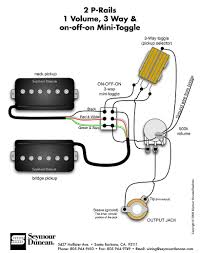 seymour duncan p rails wiring diagram 2 p rails 1 vol 3 way