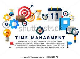 flat illustration concept effective businessman who stock vector