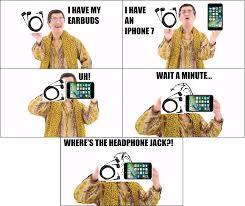 Pen Meme - iphone 7 ppap pen pineapple apple pen know your meme