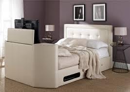 Kingsize Tv Bed Frame Honley Leather Tv Bed 699 00 Cool Bedrooms Pinterest
