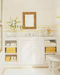 Grey And Yellow Bathroom by Yellow Rooms Martha Stewart