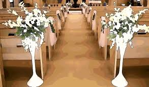 wedding flowers church guide for designing church pews for weddings