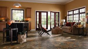 Living Room With Laminate Flooring Vinyl Laminate And Linoleum Mercer Carpet One