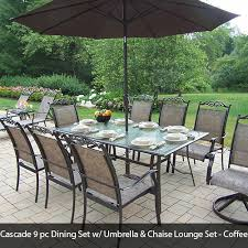 Outdoor Patio Dining Sets With Umbrella Oakland Living Patio Furniture Dining Bistro U0026 Lounge Sets 5