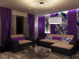 purple and white scheme best color to paint a interior room for living ideas jpg