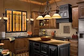 elegant u shape kitchen decoration escorted by solid light oak