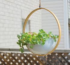 modern hanging planters diy hanging planter northstory