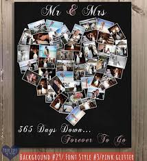 1st anniversary gifts for husband anniversary gift anniversary photo collage anniversary