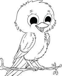 big bird coloring pictures pages print face sesame street