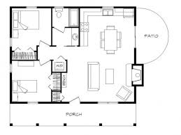100 cabin floorplan little house on a trailor 16 x 40