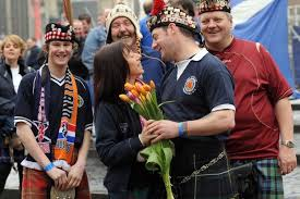 how did the scottish men plait and club their hair in pictures 30 great scottish sayings and phrases daily record