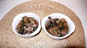 cuisine ris de veau recette cassolette de ris de veau aux chignons 750g