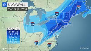 Usa Snow Map by North American Weather Radar Old Farmers Almanac Us Doppler Radar