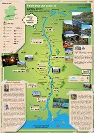 Map Ireland Paddle Your Own Canoe Canoe Trail Map Ireland