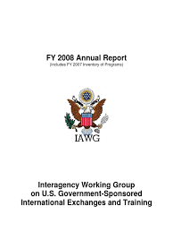 2008 state department on international exchange social
