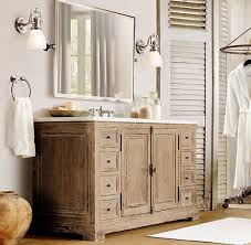 Beach Style Bathroom Vanity by Bathroom Restoration Hardware Vanities For Elegant Bathroom