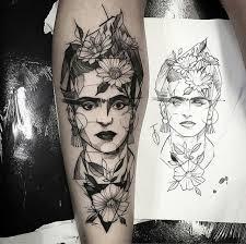 tattoo frida kahlo sketch work arm tattoo tattoo for all