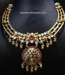new collection gold necklace images New gold necklace designs jewellery designs jpg