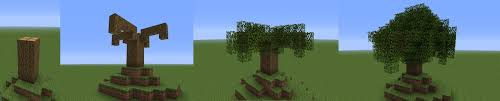 how to build small trees in minecraft minecraft guides