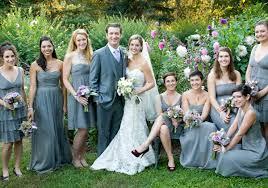 blue gray bridesmaid dresses wedding decoration garden wedding bridesmaid dresses