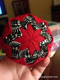 free pattern quilted ornaments no sew with a