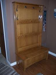 hall tree storage bench home design by john