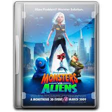monsters aliens icon english movies 2 iconset danzakuduro