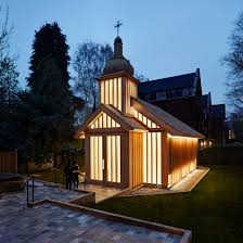 chapel architecture and interior design dezeen