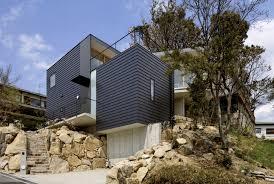 Sloped Lot House Plans Krampon House Shogo Aratani Architect Associates Archdaily