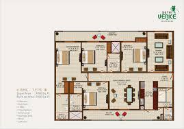 3000 Sq Ft Floor Plans Sethi Venice Noida Sethi Venice Noida Floor Plan Site Map