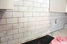 kitchen ideas dark tile grout town country oak vinyl subway tiles