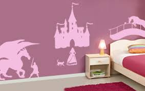 tickers chambre fille princesse sticker le kit chevalier et princesse enfants sticker forever