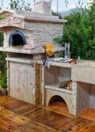cuisine d cuisine d été extérieure en reconstituée sur mesure