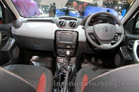 renault duster 2015 interior renault duster awd launch on september 24 shown at iims