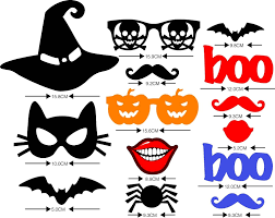 Halloween Props Usa Amazon Com Halloween Masks Halloween Photo Booth Props Party