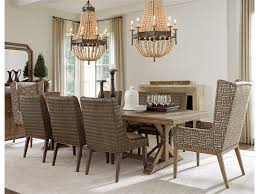 tommy bahama dining room furniture tommy bahama home cypress point nine piece dining set with