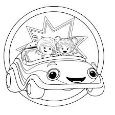 cute team coloring pages image umizoomi milli pdf halloween