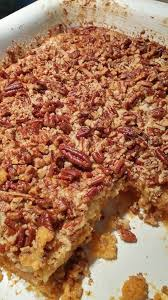 Pumpkin Bars With Crumb Topping Ingredients 1 Box Yellow Cake Mix 1 15 Ounce Can Pumpkin 1 12
