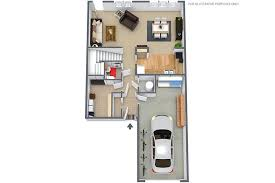 2 Bedroom Condo Floor Plan 2 Bed 1 5 Bath Townhouse