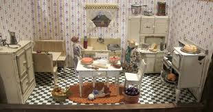1920 homes interior arcade toys for the dollhouse a 1920s kitchen by susan hale