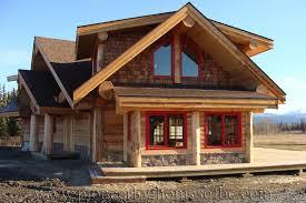 Slokana Log Home Log Cabin Round Log Post And Beam Home By Pioneer Log Homes Of British