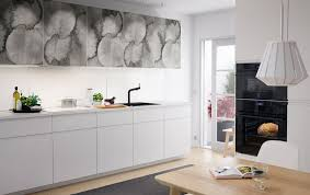 ikea porte de cuisine pour mettre vos cuisine au goût du jour grey ovens black sink and