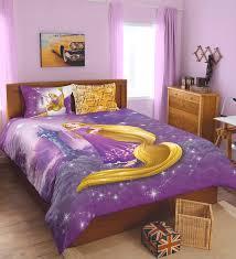 Rapunzel Duvet Cover Buy Spaces Disney Rapunzel Lavender Double Bedsheet With 2 Pillow