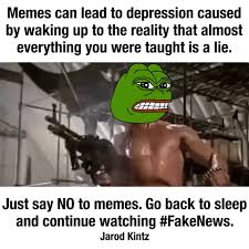 Meme Warfare - the only people who want you to stay asleep are mattress salesmen