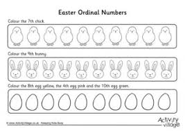 worksheet for ordinal numbers for grade 2 ordinal numbers