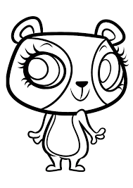 littlest pet shop coloring pages kittens coloringstar