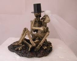skeleton cake topper skeleton cake topper etsy