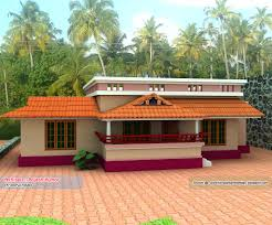 home plan and elevation 1000 sq ft kerala house design idea
